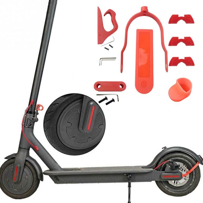 Pçs set para Scooter Elétrico Traseiro Paralama
