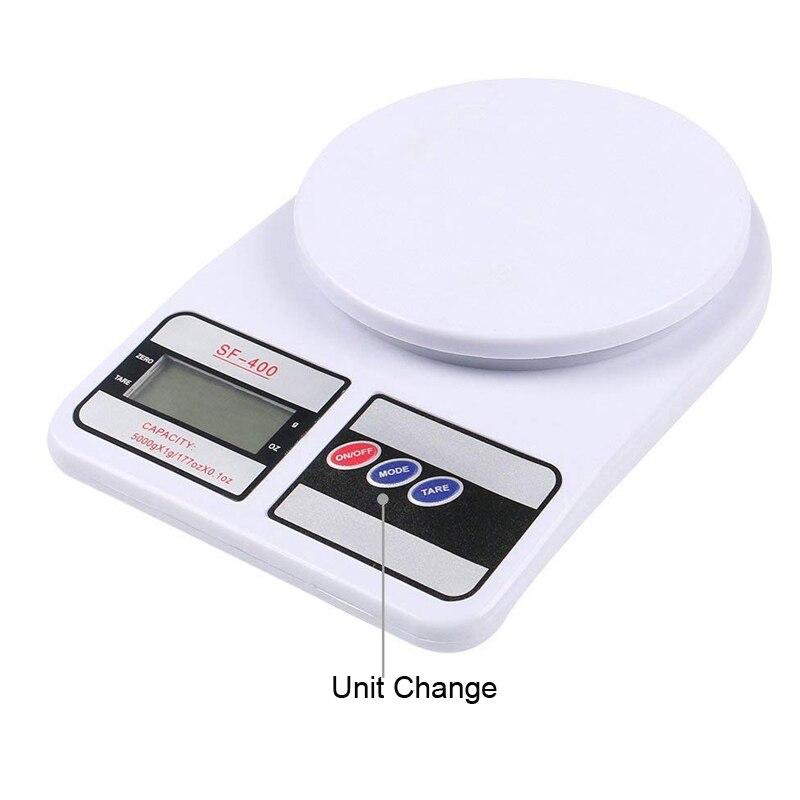 SF400 кухонные весы, цифровые пищевые весы, высокоточные кухонные электронные весы, 10 кг-5
