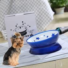 Pet tilt bowl, dog bowl cat bowl, pet bowl rice bowl food bowl water bowl