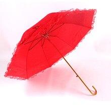 Aurora праздничный ярко-красный xin niang san 【xiu】 ремесла Хуа Сан 100 года все сезоны изогнутая рукоятка двухслойная restonic san Umbre
