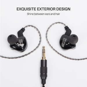Image 3 - TFZ T1s In Ear Earphones With Microphone Wired Headset With Mic Stereo Bass In Ear Earphone Monitor Sports Headset for phone