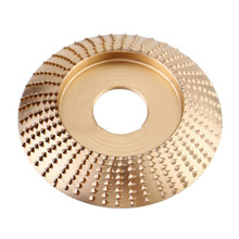 Carbide Wood Sanding Carving Shaping Disc For Angle-Grinder Grinding Wheel(China)