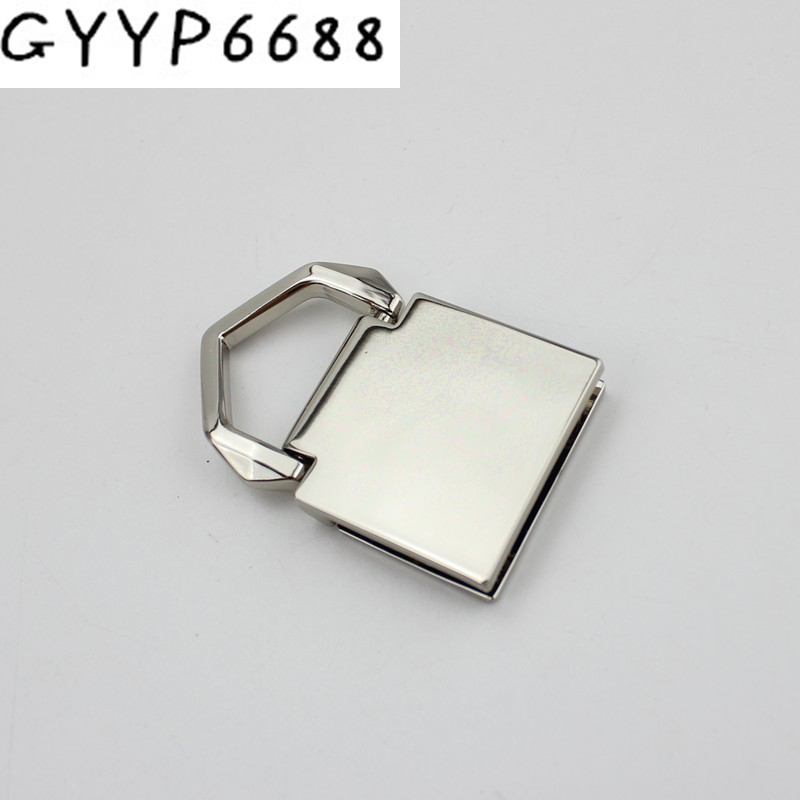 4pcs 20pcs 47*28mm High Quality Metal Fitting Hardware Bags Accessories Screw Square Hanger Connector Hanger Wholesale