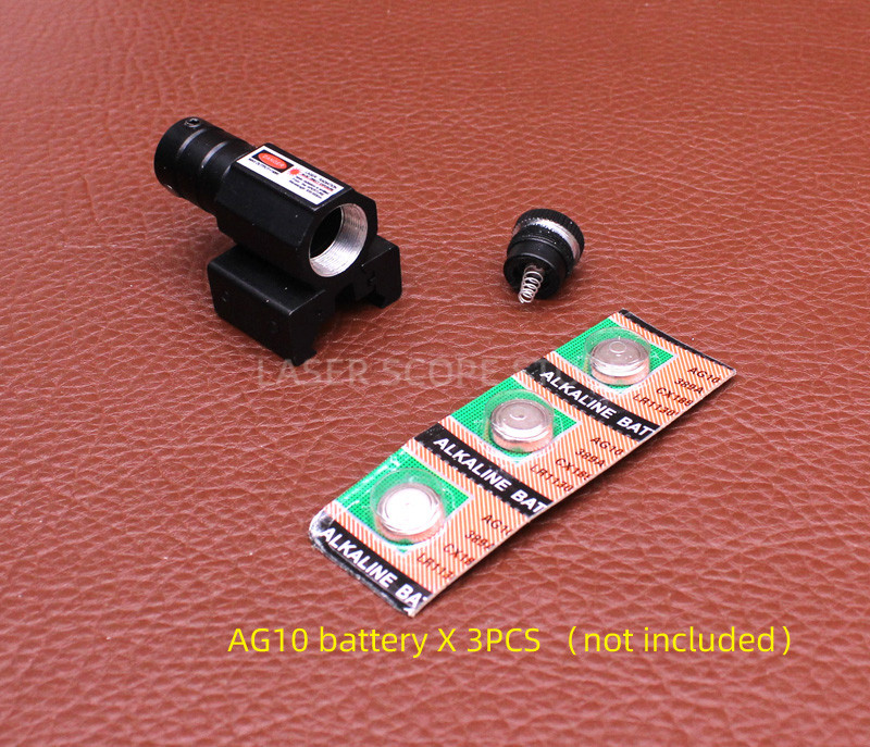 Tactical AT Red Laser Sight for Glock 19 Accessories  Glock Laser Scope  Powerful Laser Pointer 11/20mm Can Change-3