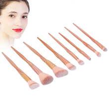 Pędzle do makijażu nietoksyczne pędzle do cieni do powiek miękkie i gęste dla kobiet w domu niełatwo spaść tanie tanio TMISHION CN (pochodzenie)