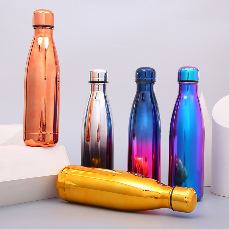 Image 3 - 500ml Double Wall Vacuum Stainless Steel Insulated Water Bottles with custom logoWater Bottles   -