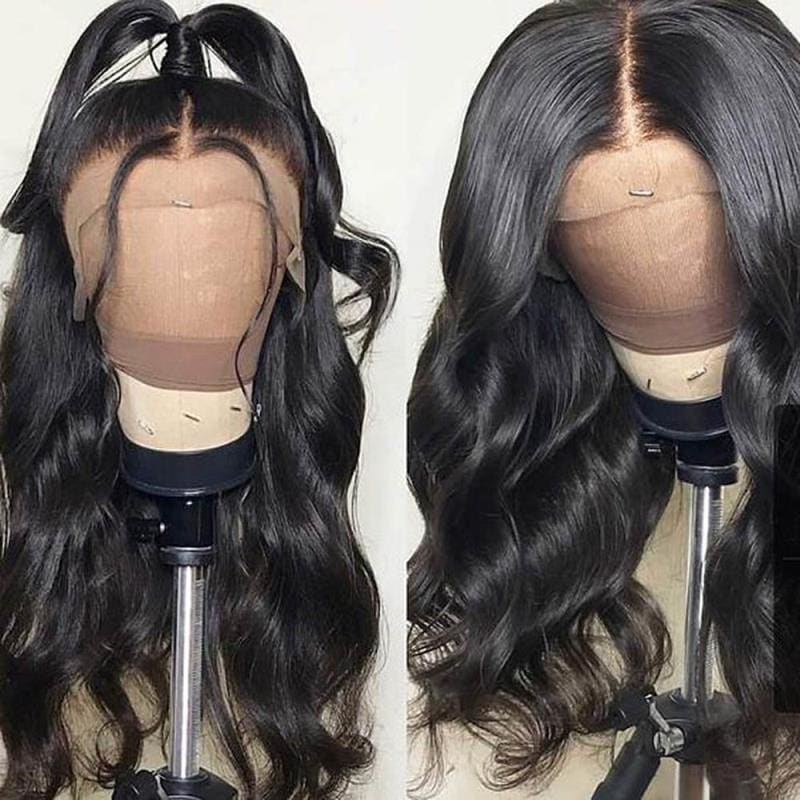 13 X 6 Lace Frontal Human Hair Wigs Body Wave Brazilian Remy Hair Wigs For Black Women With Baby Hair Body Wave Lace Frontal Wig