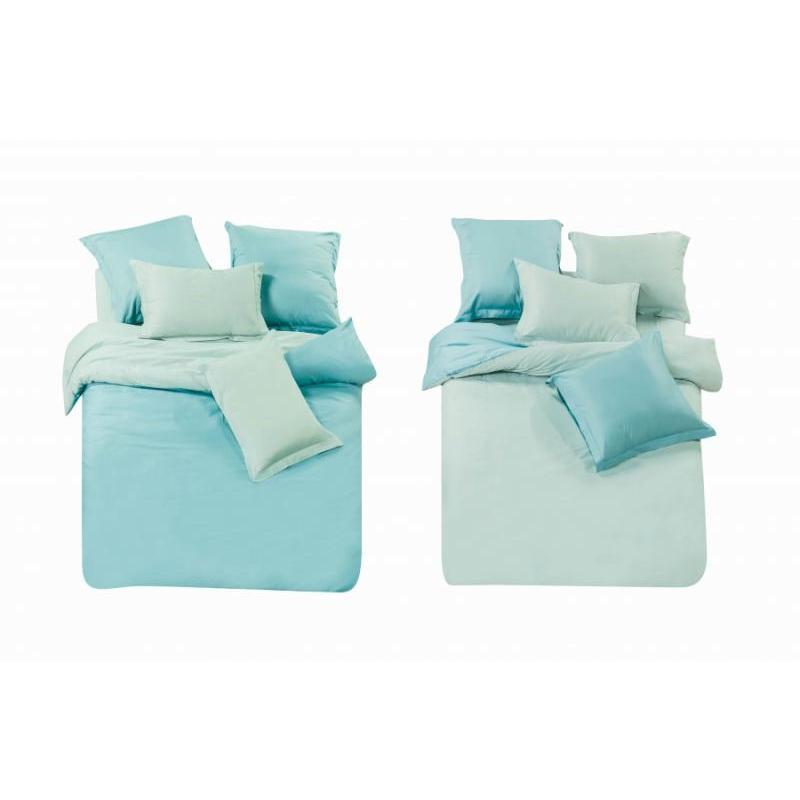Bedding Set double-euro СайлиД, L, blue/Sky Blue цена