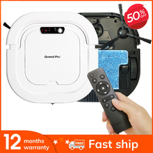 Grand-Pro A1 Multifunctional Robot Vacuum Cleaner 3-In-1 Auto Rechargeable Smart Sweeping Robot Self-Charging Robotic Vacuum