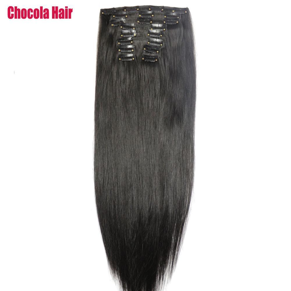 Chocola Full Head Brazilian Machine Made Remy Hair 10pcs Set 280g 16
