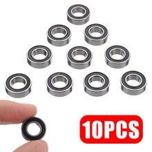 10 peças de alta qualidade de borracha selado rolamento de esferas conjunto rolamentos diminutos 688-2rs 688 rs rolamento de esferas 8x16x5mm