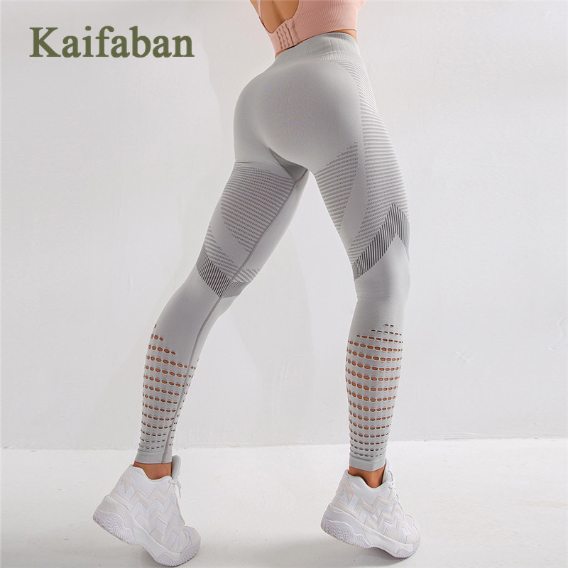 <font><b>Women</b></font> <font><b>Sexy</b></font> Butt Seamless <font><b>Yoga</b></font> <font><b>Pants</b></font> Hole Mesh Hollow <font><b>Leggings</b></font> <font><b>Fitness</b></font> <font><b>High</b></font> <font><b>Waist</b></font> Tight Push Up Gym Clothes Track Wear Sportswear image