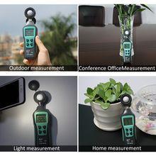 цена на Digital Lux meter 200,000 light meter Mini Luxmeter Handheld illuminometer Meter  Spectrometer  Enviromental Testing Photometer