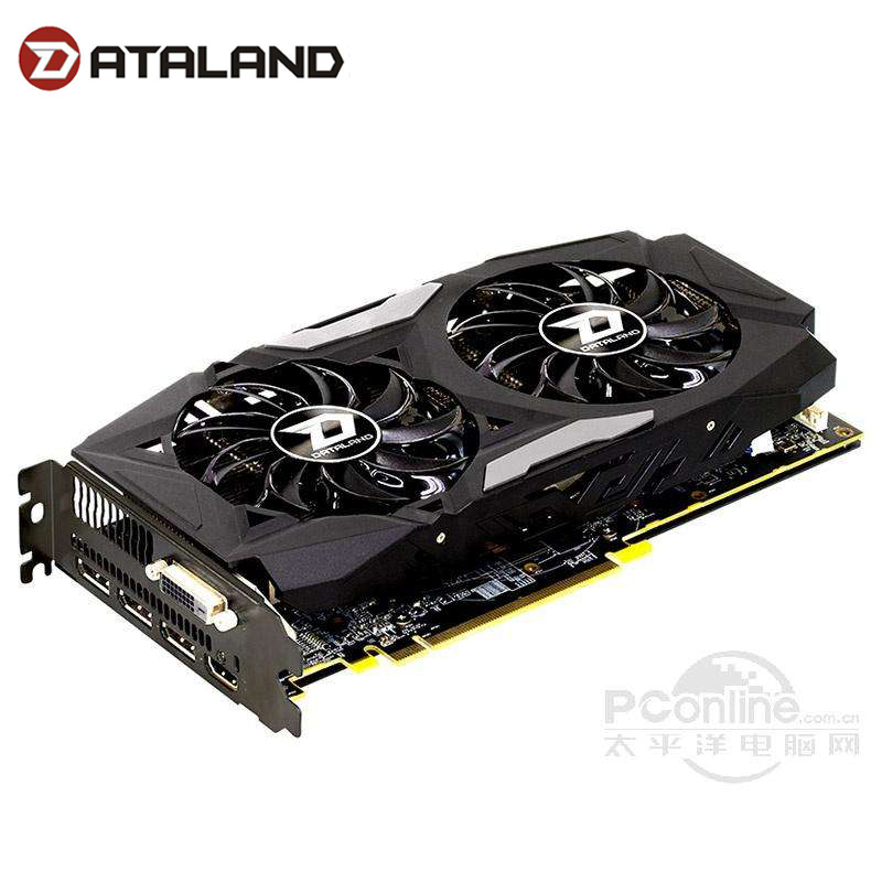 Dylan HengJin RX 470 4G Dual Cool Dataland RX470 DUal CoolGraphics Card Cooling Fan RX470 4G 256bit GDDR5 Gaming Card