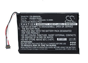 Cameron Sino Battery For Garmin KI22BI31DI4G1 image