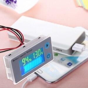 Image 5 - 2020 newバッテリー容量インジケータ電圧モニタ 10 100vユニバーサルバッテリ容量電圧計テスター液晶車鉛酸インジケータ