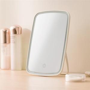 Image 5 - Youpin Led Make Up Spiegel Touch Gevoelige Controle Led Natuurlijke Licht Vulling Verstelbare Helderheid Hoek Lichten Lange Batterij Li