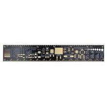 Линейка PCB 15 см для электронных инженеров для гиков, принимающих вентиляторы PCB ссылка линейка PCB индивидуальную упаковку v2 - 6