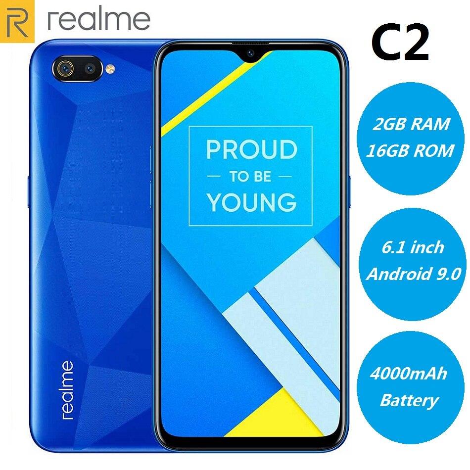 Фото. Realme C2 4G смартфон 6,1 дюймов Android 9,0 Helio P22 Восьмиядерный 13.0MP + 2.0MP 4000 мАч большой