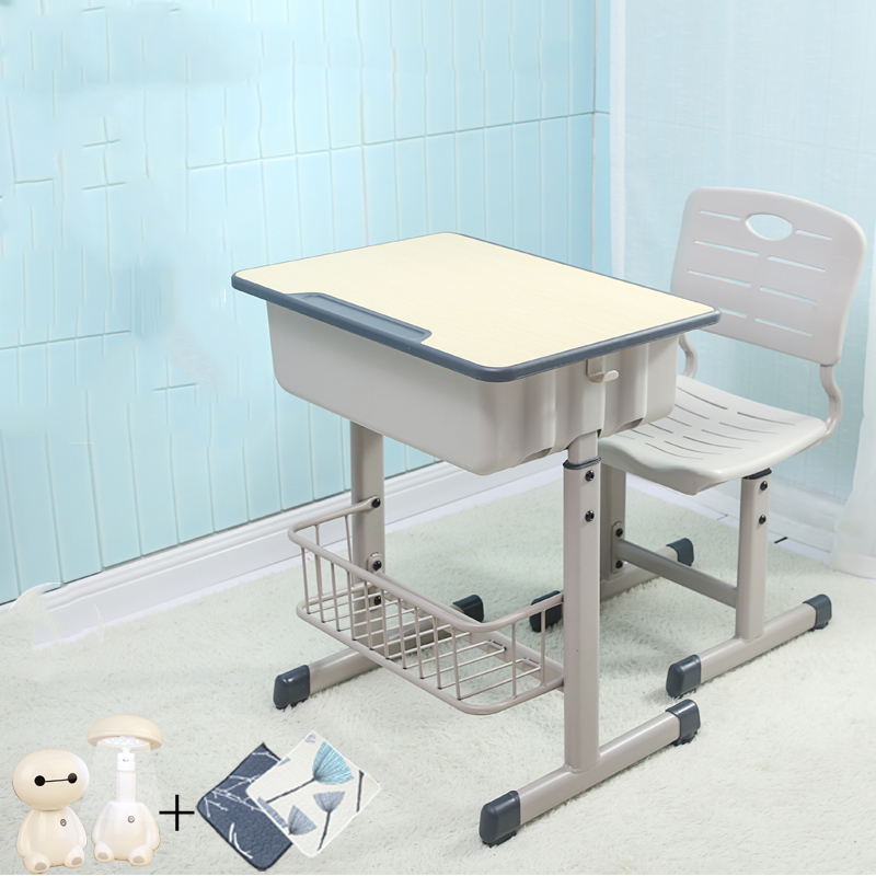 Yucai Students Desks And Chairs Children's Study Desk And Chair Set Home Writing Desk Lift Training Counseling Class School