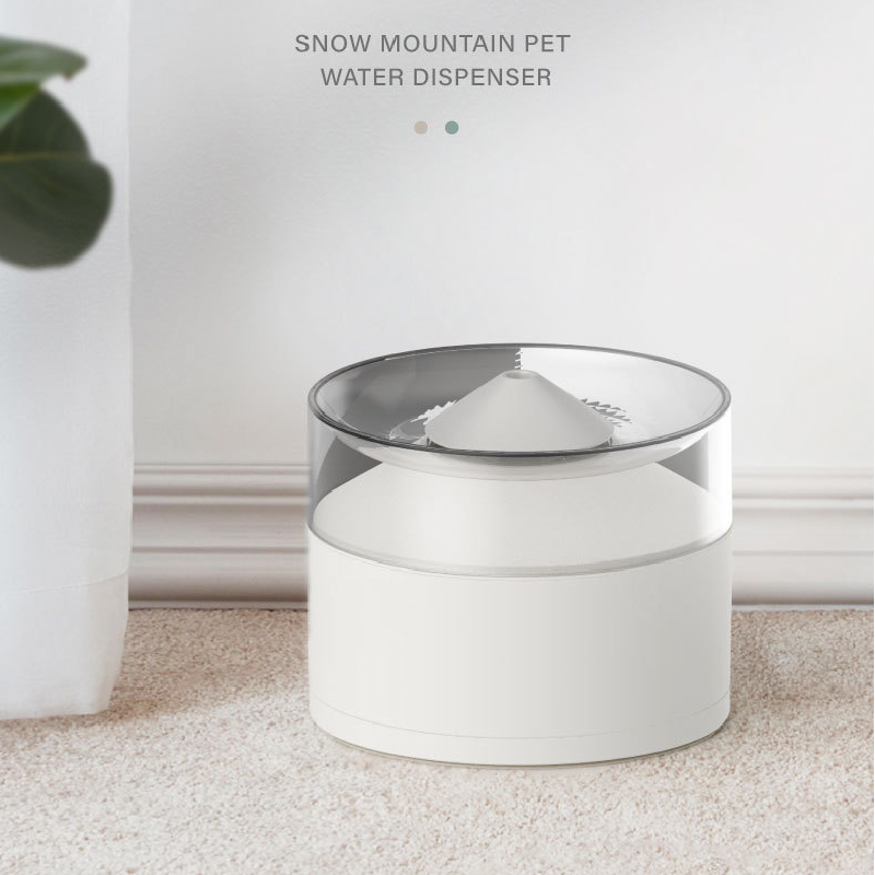 Cat Drinking Fountain Cats and Dogs Water Automatically Circulates and Quadruple Filtering Intelligent Mute Pet Water Fountain