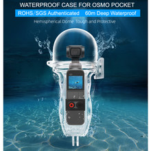 DJI Osmo Pocket Dive Case Housing Waterproof Case or Protective Diving Case Shell 60M Depth Camera Osmo Pocket Accessories(China)