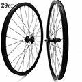 29er карбоновые колеса для горного велосипеда 35x25 мм бесцепные  бескамерные дисковые колеса FASTace DA201 100x9 135x9 столб 2 0 mtb спицы велосипедные колес...