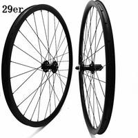 29er carbono mtb rodas DA201 35x25 milímetros hookless tubeless rodas de disco FASTace 100x9 135x9 pilar 2.0 raios rodas de bicicleta mtb|Roda de bicicleta| |  -