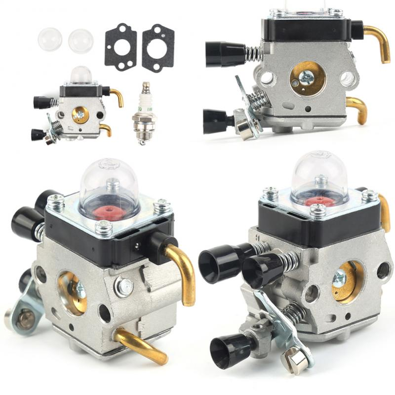 Carburetor kit for <font><b>STIHL</b></font> <font><b>FS38</b></font> FS45 FS46 FS55 KM55 FS85 Air Fuel filter Gasket TOP quality OEM replacement <font><b>parts</b></font> car accessories image