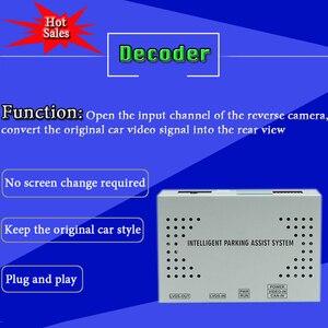 Image 3 - Ön arka görüş kamerası dekoder mercedes benz c class için W204 W205 2012 ~ % 2020 orijinal araba ekran ekran yükseltme park adaptörü