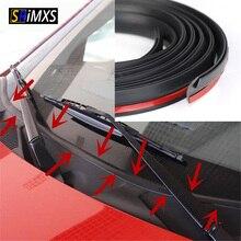 Tira dustproof da selagem do telhado solar do pára brisa do auto adesivo do selo de borracha de 1.7m para o pára brisa do painel do carro do automóvel