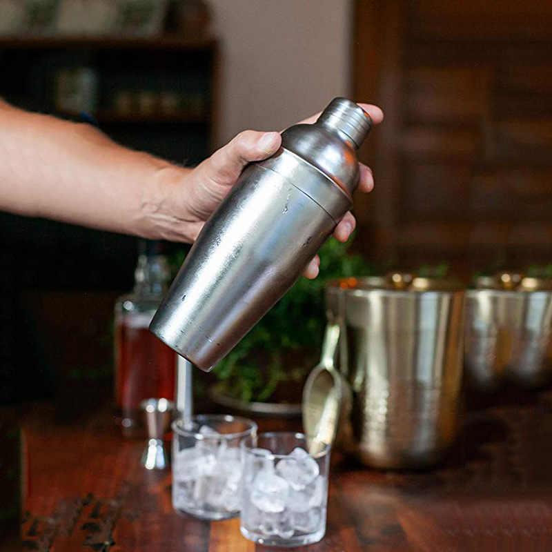 9 pçs/set 550-750mL Bebida Navegador Bartender Kit 2019NEW Ferramentas Misturador de Aço Inoxidável Set Cocktail Shaker Lindo Criativo qualidade