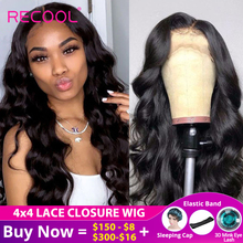 Perruque Lace Frontal Wig 180 brésilienne Body Wave Recool