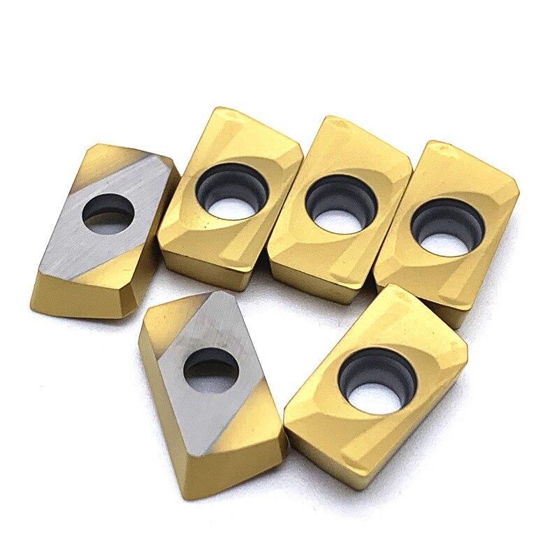 Купить с кэшбэком 10PCS APMT1604 PDER M2 H2 VP15TF UE6020 US735 Carbide Insert Lathe Milling Mill cnc tools milling cutter