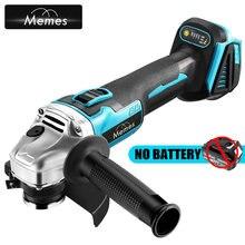 125mm 4 velocidade sem escova sem fio elétrico angle grinder máquina diy carpintaria ferramenta de corte metal para makita 18v bateria