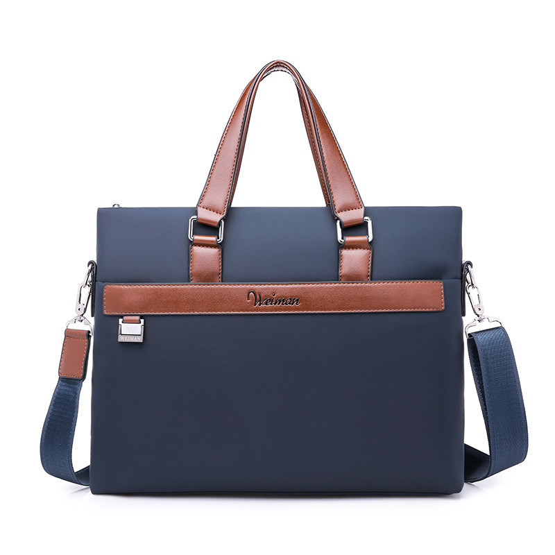 Men Oxford Business Briefcase Office Travel Messenger Large Tote Women Computer Work Bags Business Trip Laptop Bag Bolso Hombre
