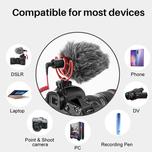 Image 3 - Original Rode VideoMicro On Camera Microphone Vlog Voice Recording Mic Interview Microphone for Canon Nikon Sony DSLR Smartphone
