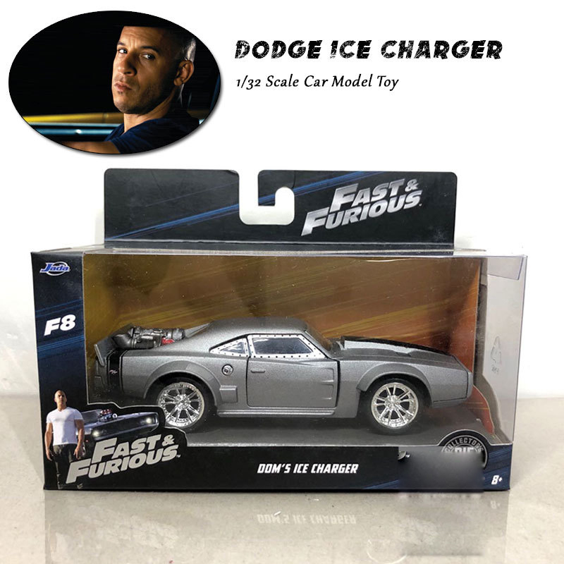 1:32 Fast and Furious Cars Dom's Dodge Ice Charger Collector Edition Simulation Metal Diecast Model Cars Kids Toys Gifts
