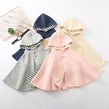 Children Cloak Baby Autumn Girls Cute Jacket Newborn Outerwe