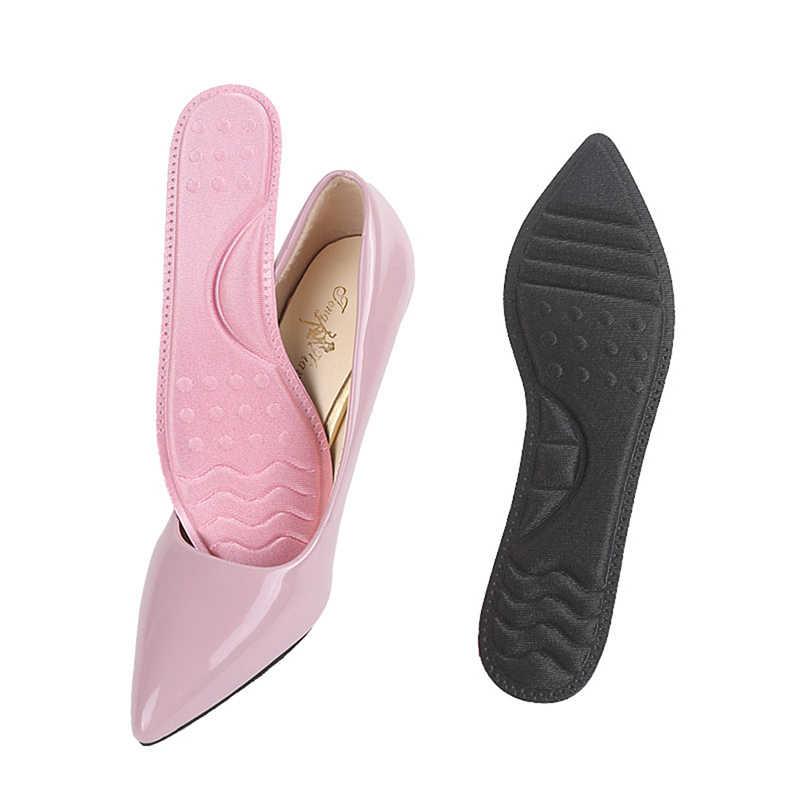 Weichen Bequemen Schuh Pads Rosa Schwarz 3D Atmungsaktive Kissen Massage Unterstützung Frauen High Heels Einlegesohle Orthesen Schuhe Pad 1 Paar