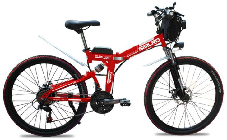 21 speed high quality electric bike/electric bicycle Carbon Steel 350W 48V e bike