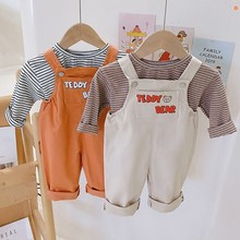 Girls Overalls Pants Jumpsuits Toddler Baby Boys Children Casual New And Cartoon Summer