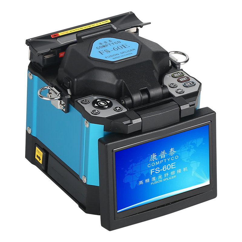 COMPTYCO FS-60E Splicer Machine Fiber Optic With CFS-3 Three Stripping Pliers