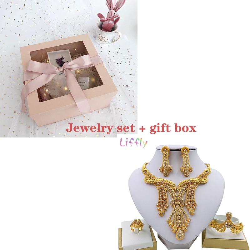 Sets gold and box