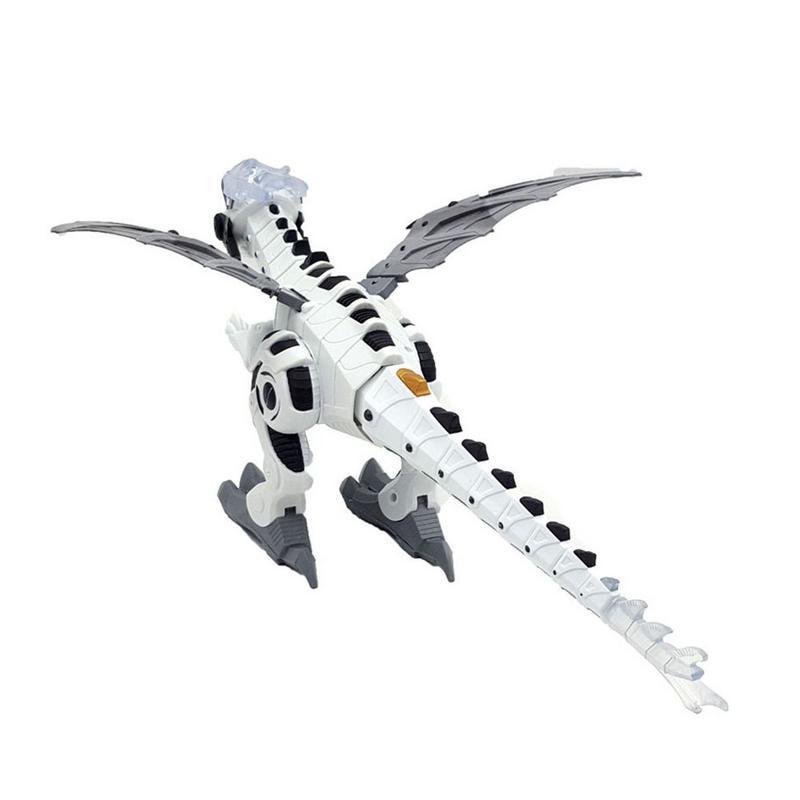 Интеллектуальная модель динозавра, Электрический робот с дистанционным управлением, механический спрей в форме динозавра, электрическая и...