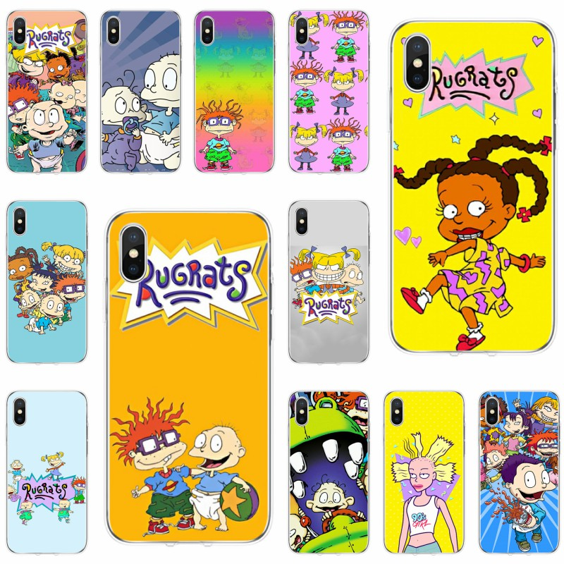 Rugrats Cover Soft Silicone 2018 TPU Phone Case For iPhone 11 5C 5S SE 6 6plus 7 7plus 8 8plus X XS XR XS Max image