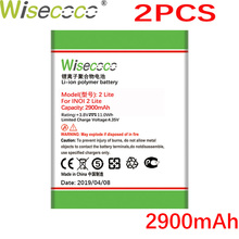 Wisecoco 2PCS 2900mAh NEW Battery for INOI 2 Lite INOI2 Phone High Quality battery+Tracking Number