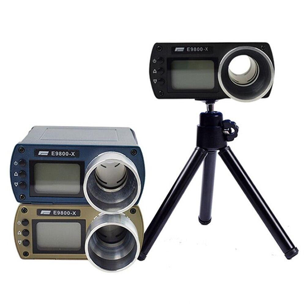 Bullet Firing Speed Chronograph Shooting Measuring Instruments Chronograph For Shooting Lcd Chronoscope E9800-X Speed Tester
