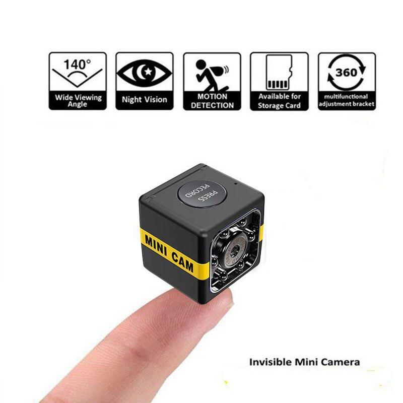 2019 New Upgrade SQ11 Mini Camera Micro HD 1080P Night Vision Camcorder Car DVR Infrared Video Recorder Sport Digital Camera|Mini Camcorders| |  - title=
