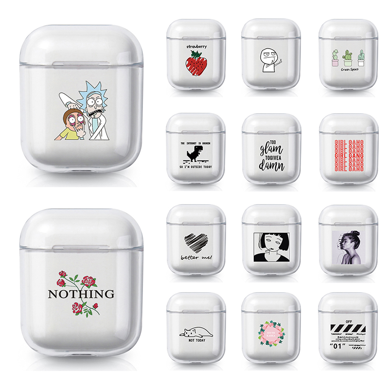Luxury Transparent Soft TPU Case For Airpods Pro Case Bluetooth Earphone Cover For Air Pods Pro  2 1 Case Cute Protection Cover